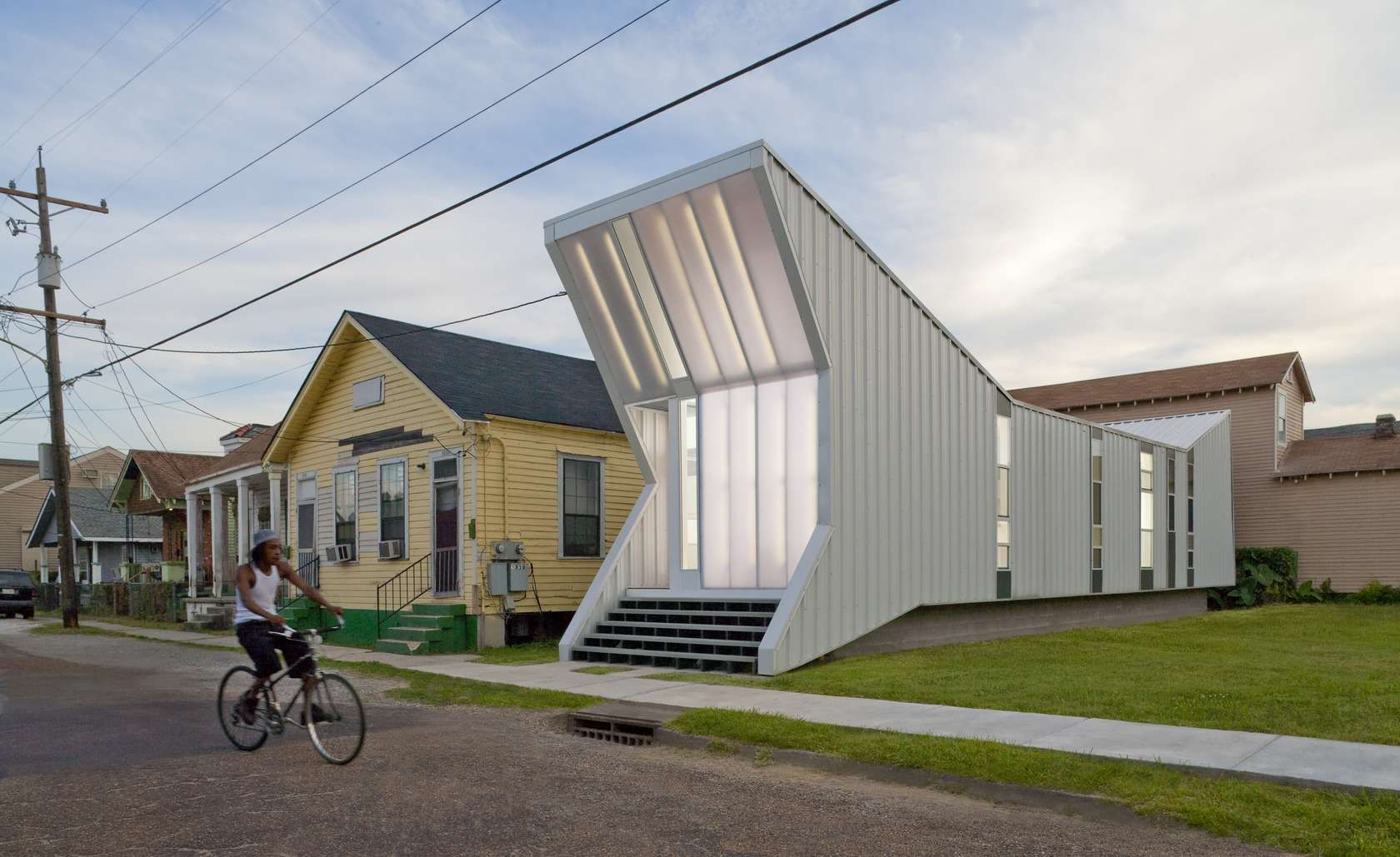 new orleans architecture studio building studio has taken the challenge of post katrina rehousing in new orleans when finished neighborhood housing