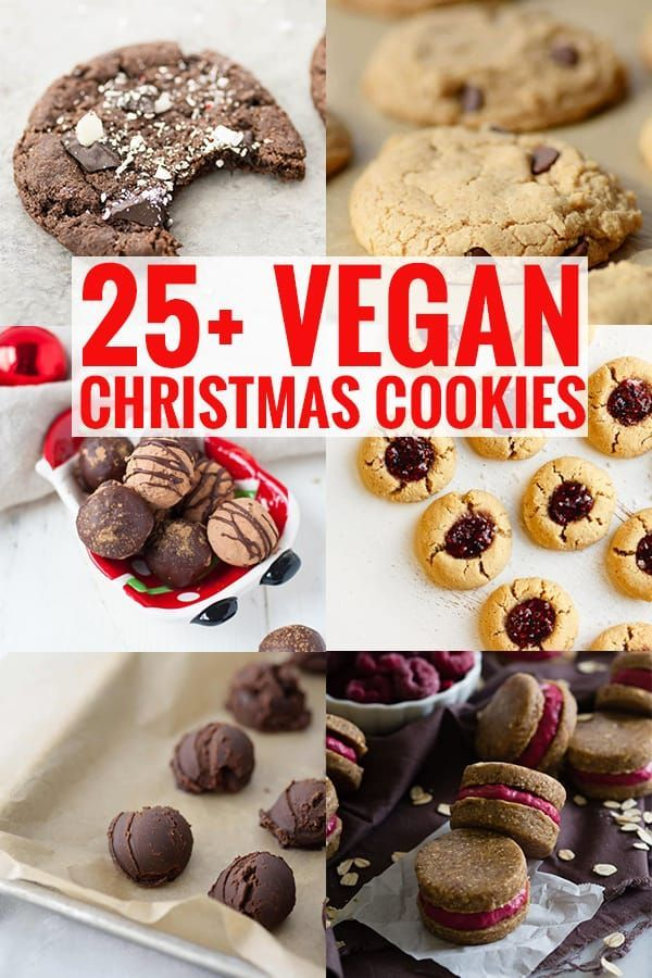 25 Vegan Christmas Cookies Healthy Holiday Recipes Vegan