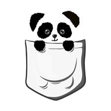 Image Result For Nerd Shirt Pocket Clipart Cute Panda Drawing Panda Art Panda Drawing
