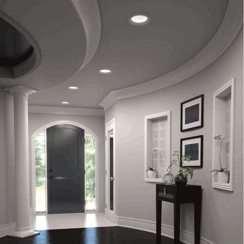 Main Living Room Lighting Ideas Tips: ELEMENT Reflections Torus 8 Inch Dome Trim