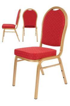 Red Banquet Chair Aluminium Frame Banqueting1 Bar Furniture