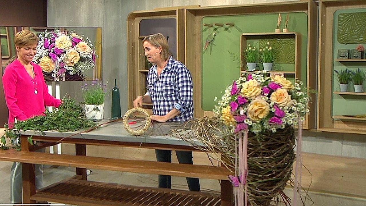 Florale Tüte Für Das Blumenbeet Nadine Weckardt Kreativ