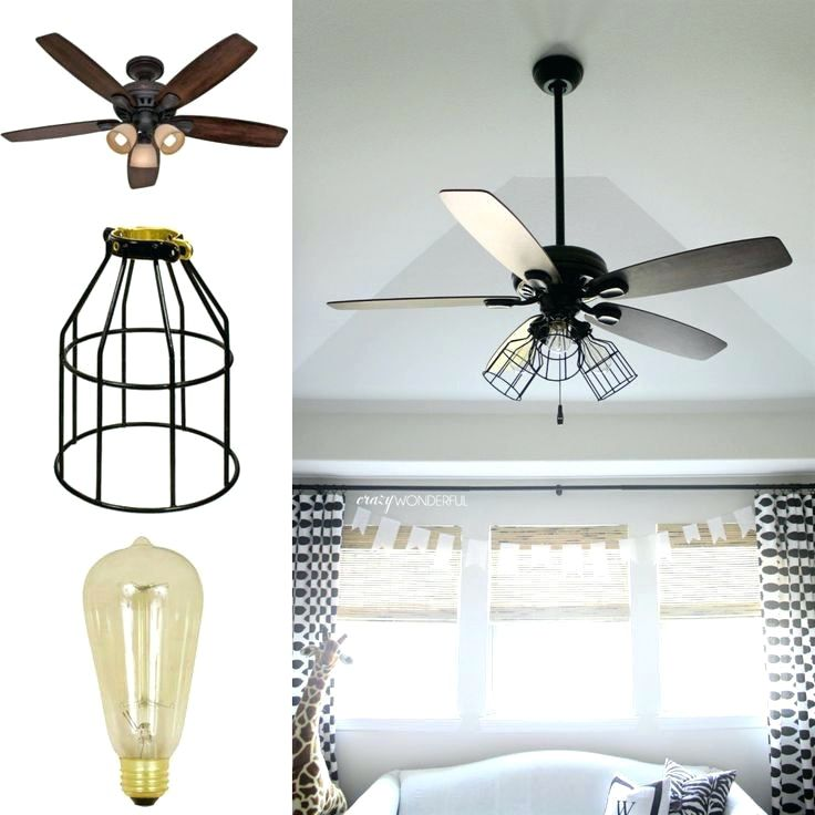 Convert Recessed Light To Ceiling Fan And Covers Lights
