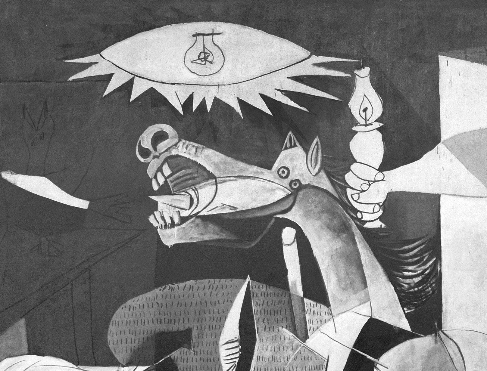 Pablo Picasso Guernica The horrors of war Surrealism art CAU