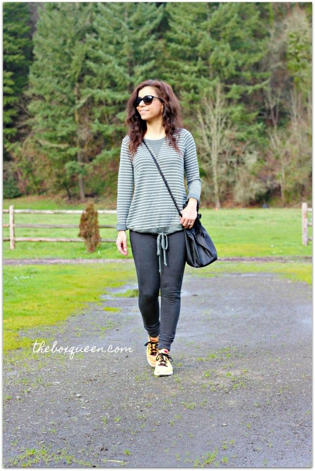 STITCH FIX REVIEW FEBRUARY 2018   Stitch Fix Outfits   Pinterest     PINK CLOVER Joselyn Knit Top  Andrew Marc Performance Camilla Fleece Lined  Drawstring Jogger Pant