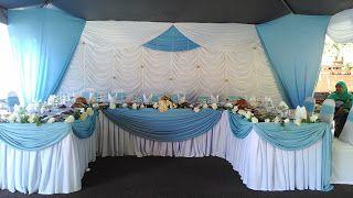 hiasan meja pengantin - desain dekorasi rumah