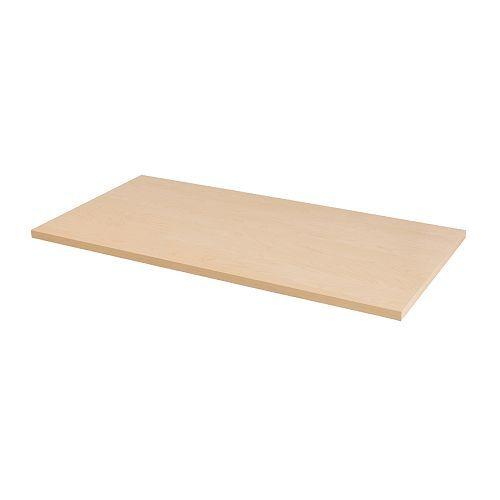 Tischplatte ikea grau  LINNMON Tischplatte, weiß | Pinterest | Ikea, Rattan und Beine