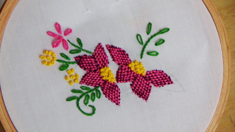 chikankari embroidery stitches tutorial pdf