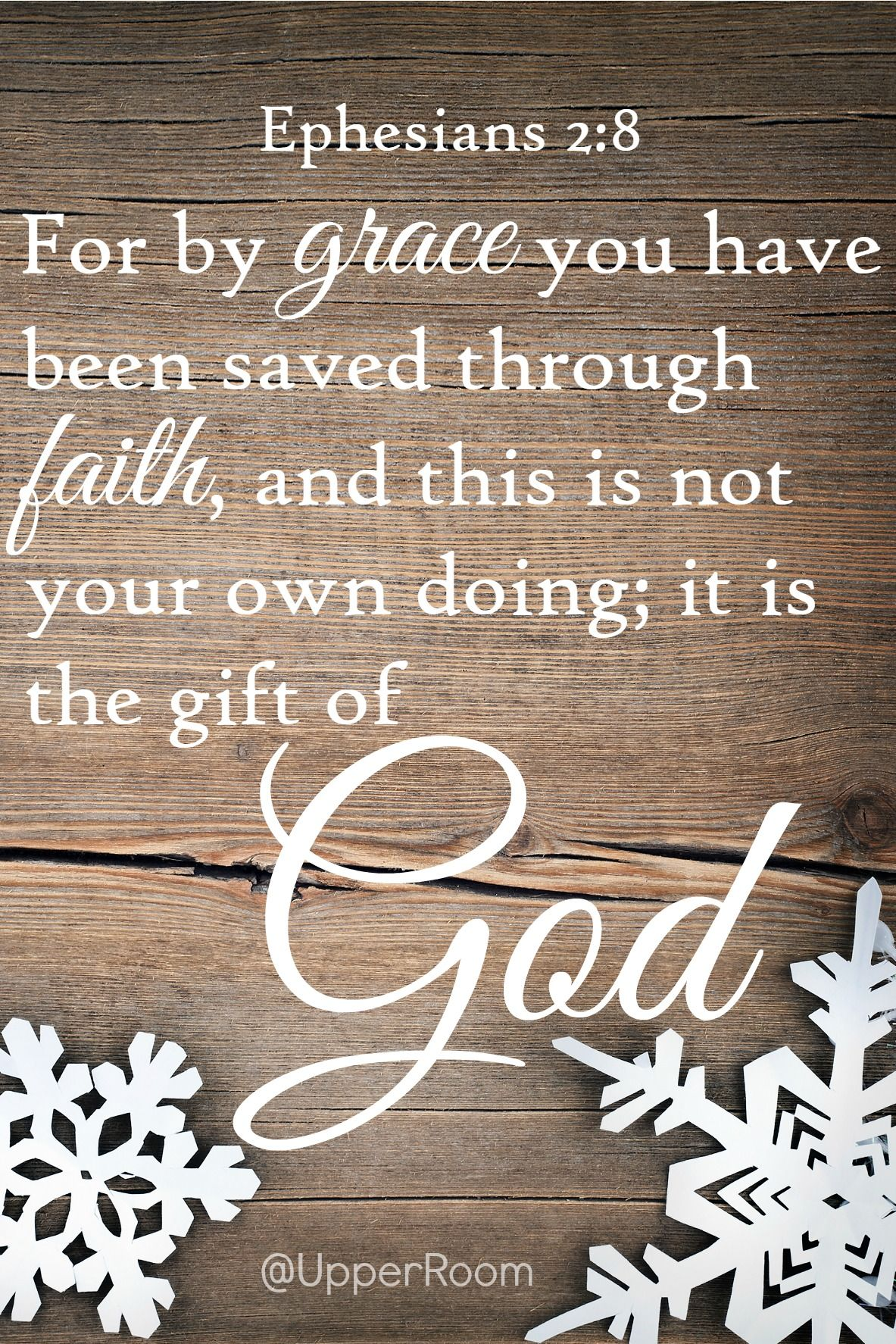 God gave us the ultimate gift when he gave us jesus love