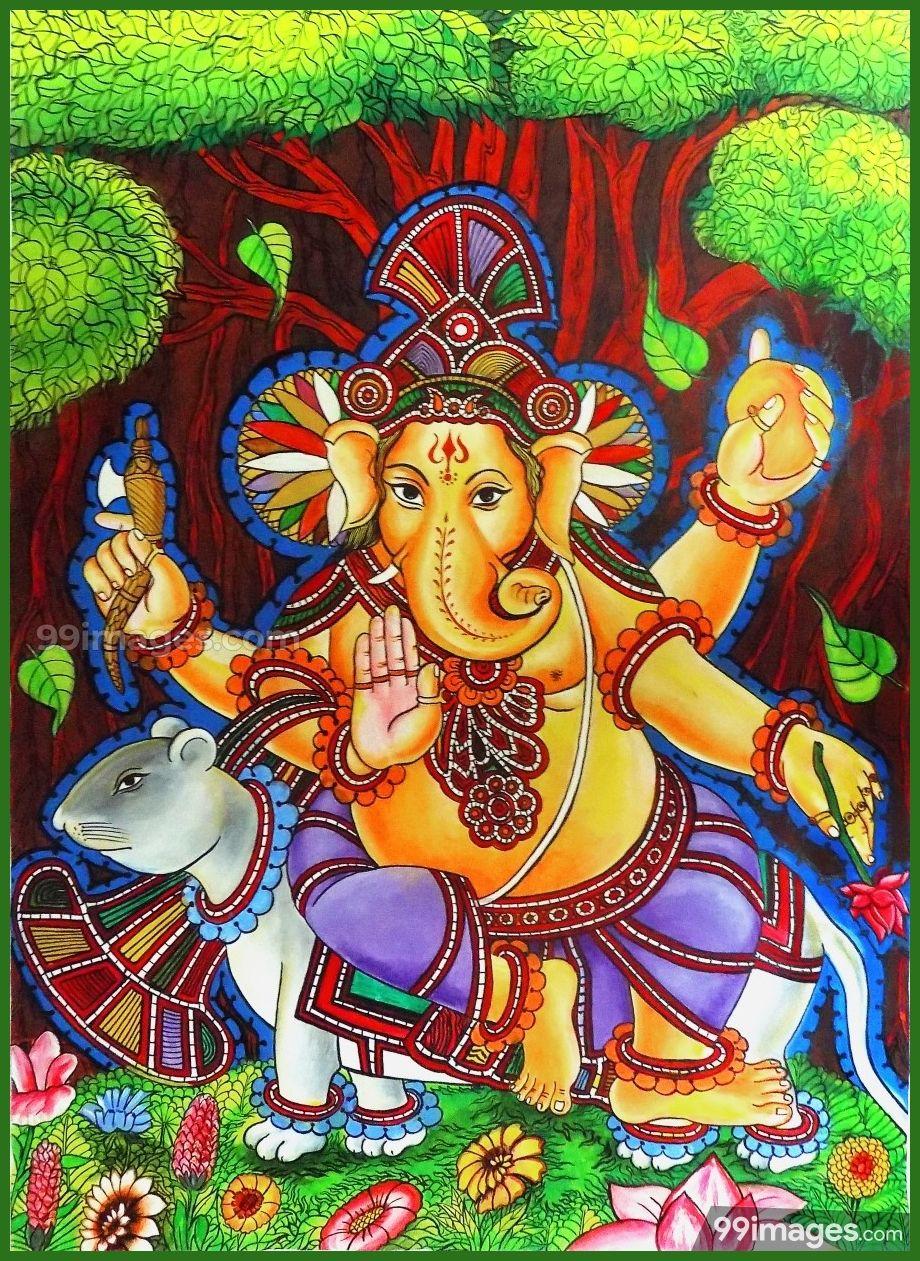 100 Lord Ganesha Images Hd Photos 1080p Wallpapers Android Iphone 2020 Mural Painting Ganesha Painting Ganesha Hindu