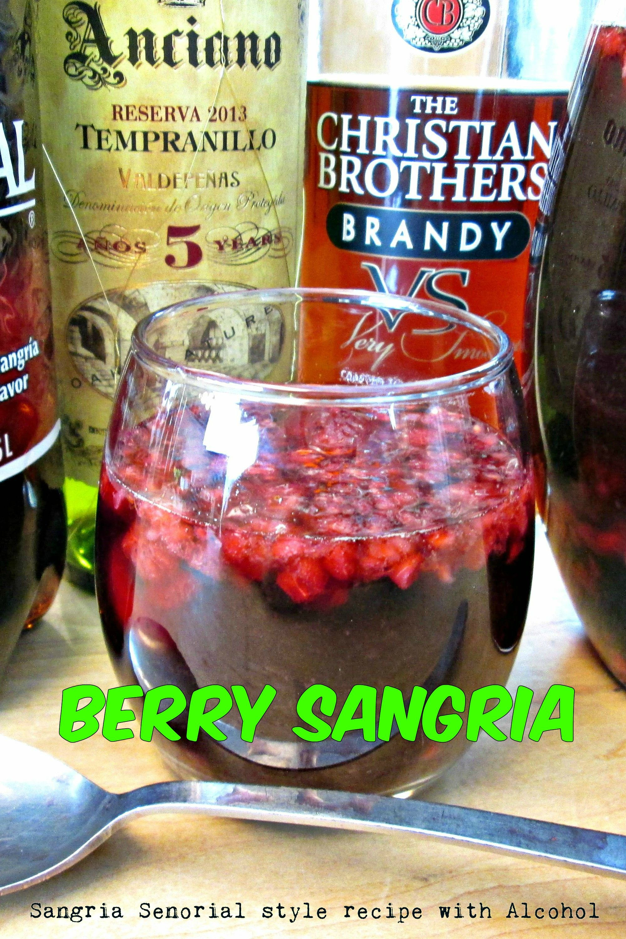 Berry Sangria In 2020 Berry Sangria Recipes Kitchen Recipes