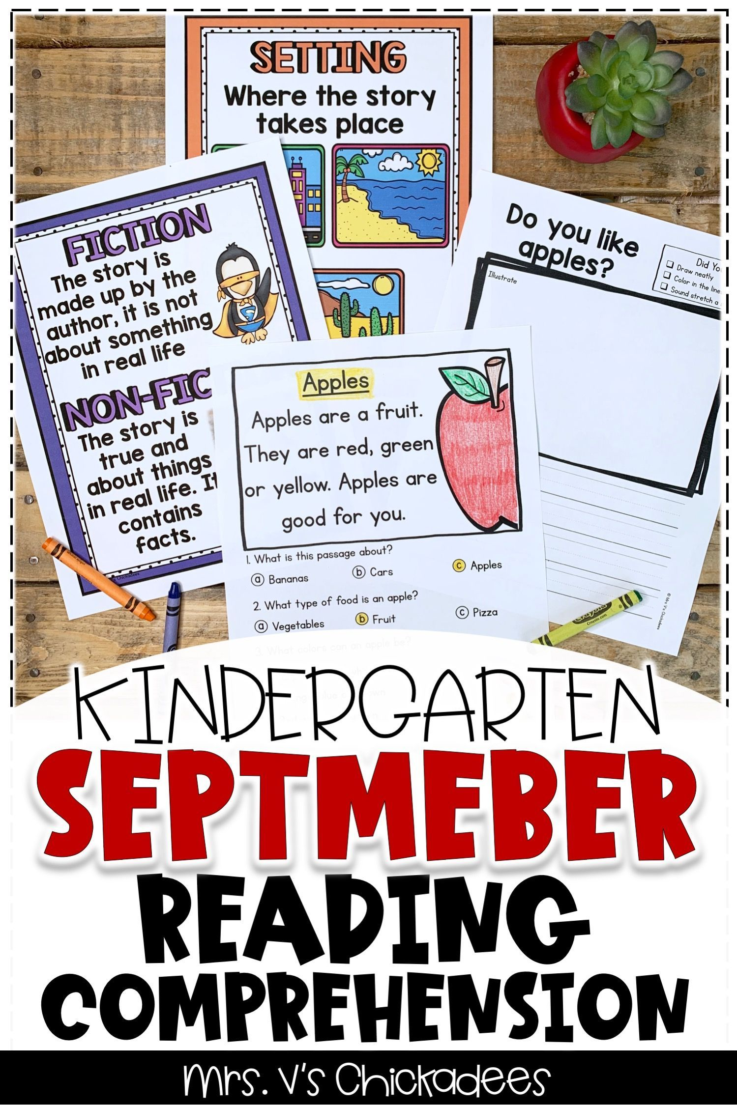 Reading Comprehension Passages Questions September Edition Kindergarten Reading Reading Comprehension Kindergarten Reading Comprehension Passages [ 2249 x 1499 Pixel ]