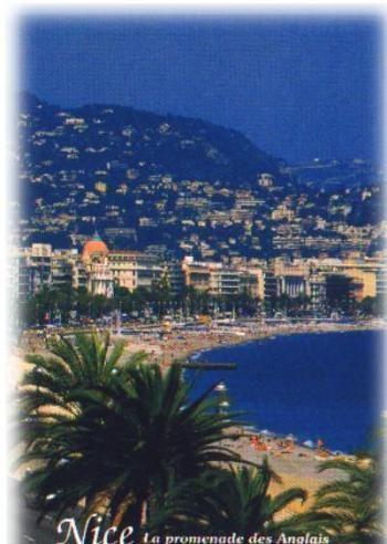 Nice, La Promenade des Anglais, France