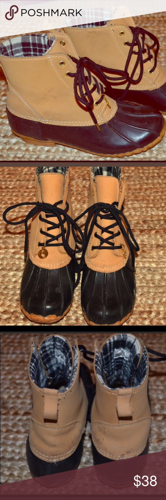 Sperry booties Good used condition Sperry Shoes Winter & Rain Boots