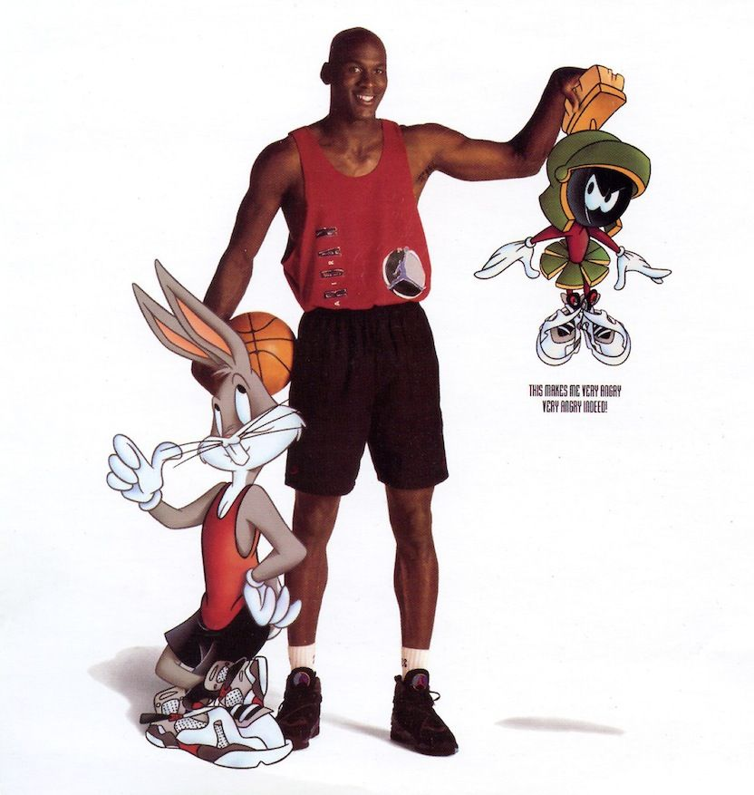 hot sale online 0d41c 2ae89 jordan-8-bugs-bunny Films Dessins Animés, Couvertures, Nike Air Jordan