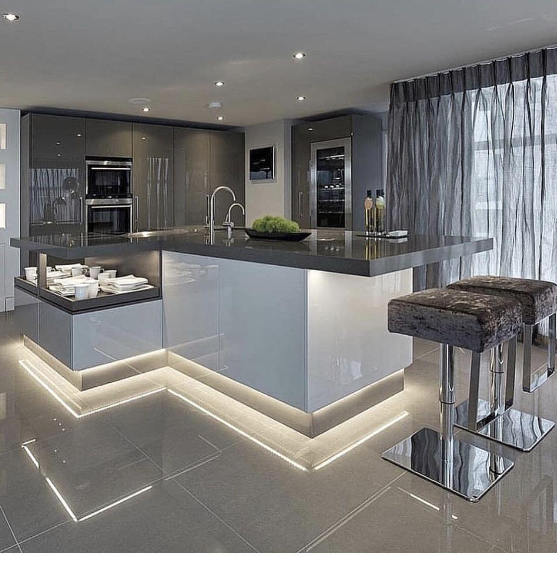 En 2019 cuisine moderne cuisine d 39 int rieur - Decoration cuisine contemporaine ...