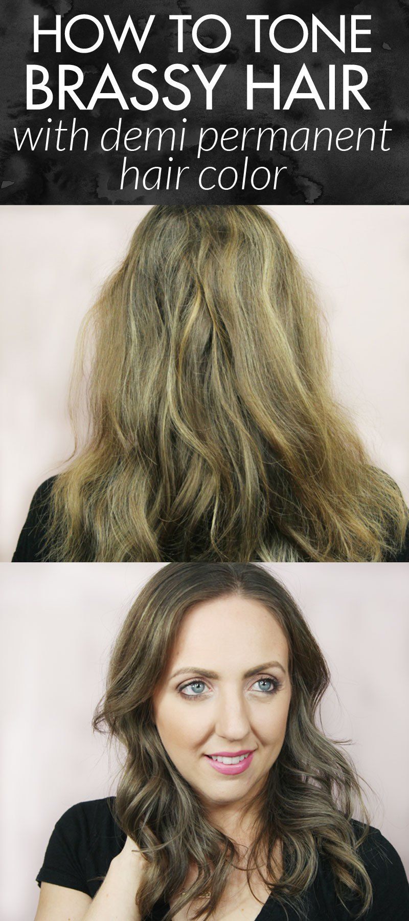How To Tone Brassy Hair With Demi Permanent Hair Color Brassy Hair Permanent Hair Color Sally Beauty Supply Hair Color