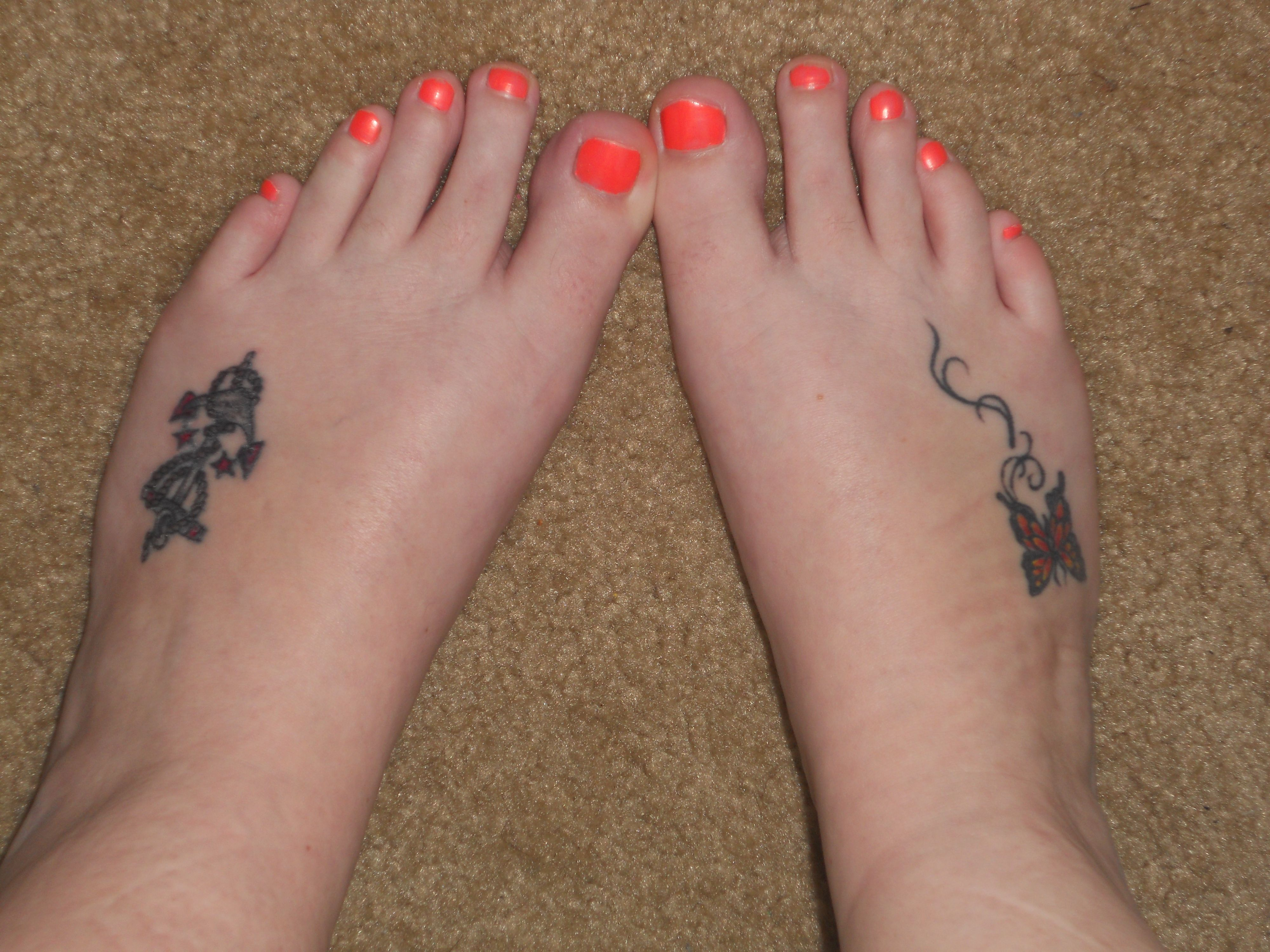 Small Foot Tattoos – Designs And Ideas