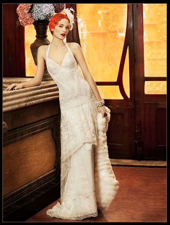 say yes to the dress... but NO to the hair color for a 20s themed ...