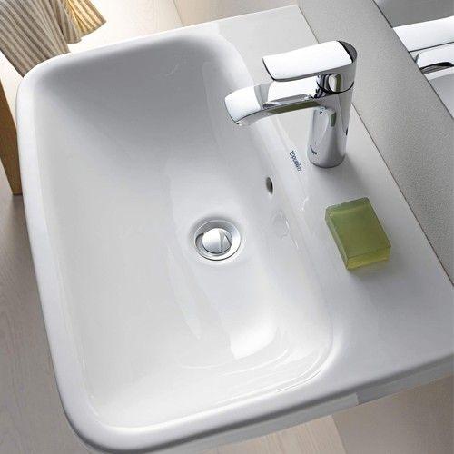 The DuraStyle Washbasin utilizes smooth curves and minimalist design to create a lasting modern focal point in luxury bathrooms. http://www.ybath.com/duravit-durastyle-washbasin.html