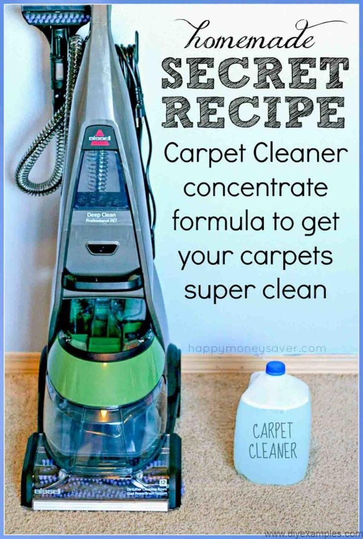 The Best EVER Homemade Carpet Cleaner Recipe for Machines ...