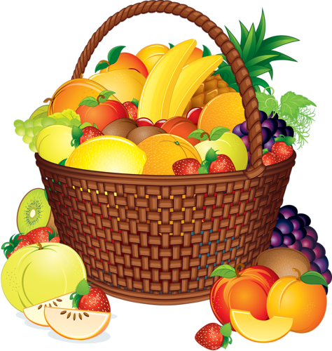 Фрукты   1 AAAAAAAAAAAA   Фрукты, Корзина и Овощи