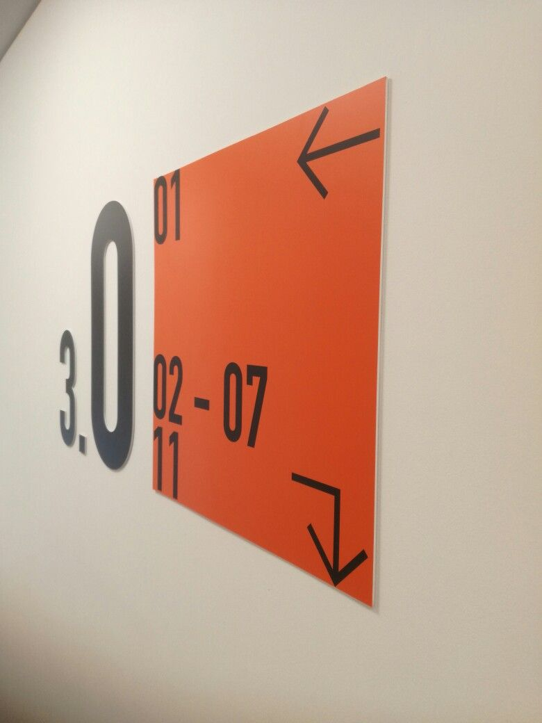 Groovy Installation For Wayfinding Signs In A House Full With Download Free Architecture Designs Scobabritishbridgeorg