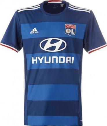 Lyon 16-17 Away Kit Jersey  a France  55b76a76b