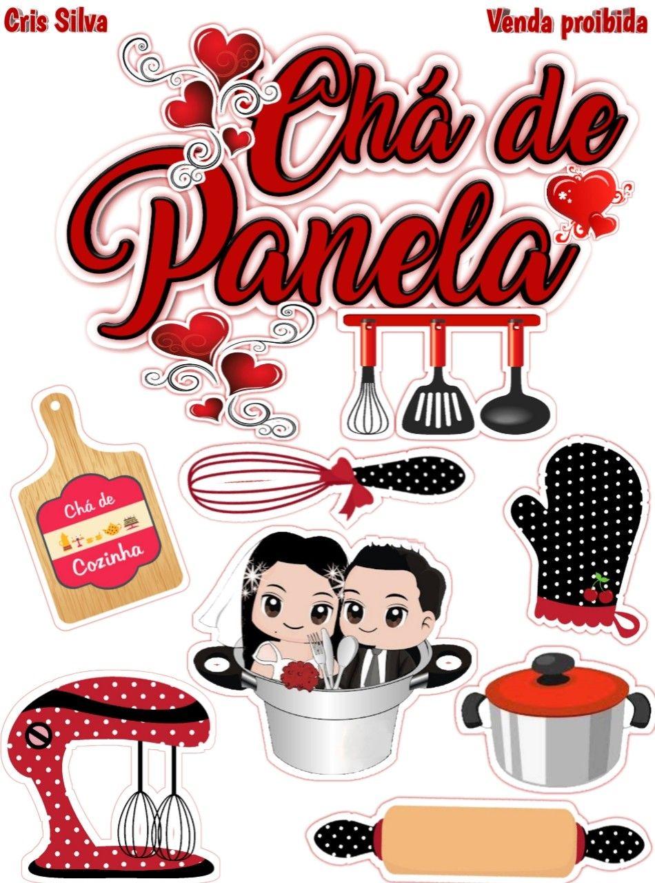 27 Pin de Vanessa em toppers para bolo scrapcake   Bolo chá de ...