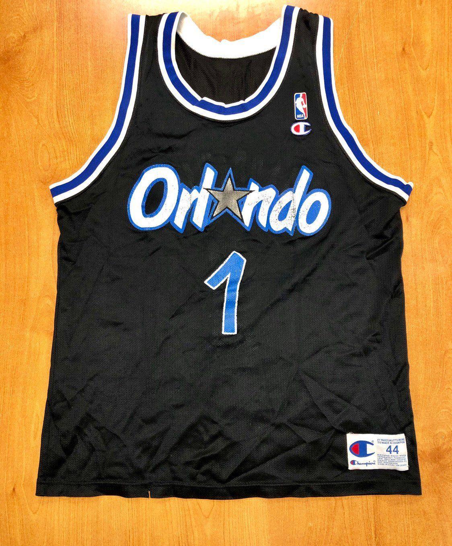 timeless design a76e3 7967b Vintage 1993 - 1997 Penny Hardaway Orlando Magic Champion ...