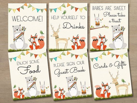 8x10 Sign WS012 Neutral Baby Shower Shower Decorations Woodland Baby Shower Decorations Printable Baby Shower Babies are Sweet Sign