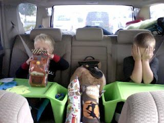 THESE TRAYS ARE GREAT Car Trip Tips for traveling with