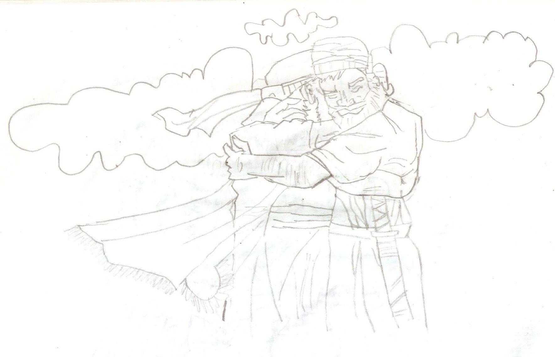 Jacob y Esaú. Perdón. Colorear.Pintar.   Dibujos Pintar   Pinterest ...