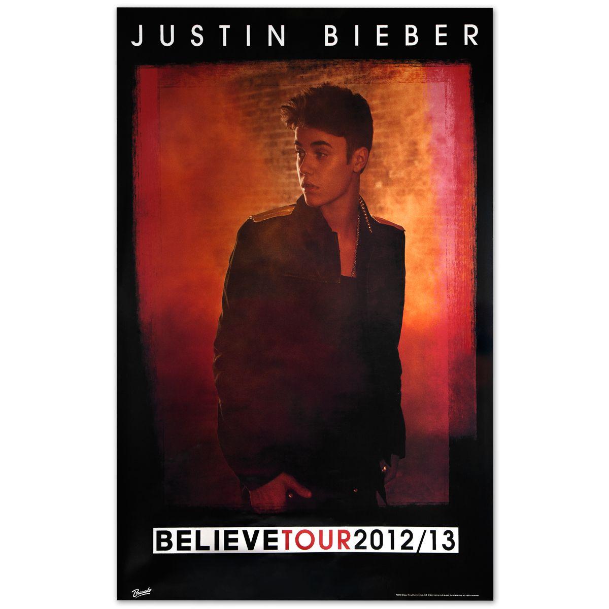 Justin Bieber Believe Tour Poster