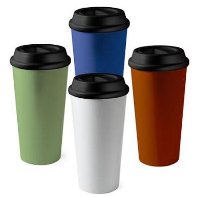 SandpiperBulk Custom 16oz reusable tumbler coffee cup