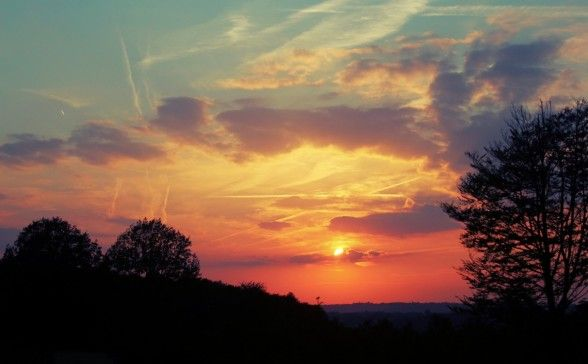 Belgium Sunset