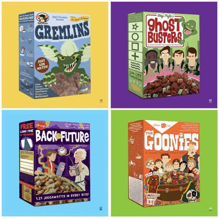 cereales variados!