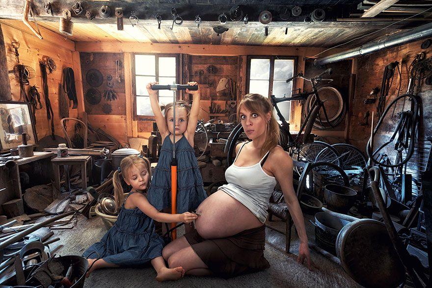 Was dieser kreative Vater mit seinen drei Töchtern macht, wird dich umhauen.