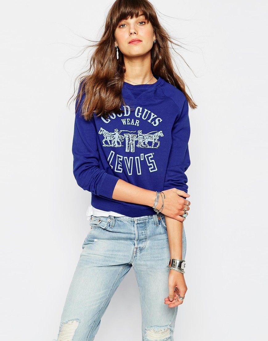 LevisGoodGuysWearLevisRaglanSweatshirt Fabulous Clothes - Good guys clothing