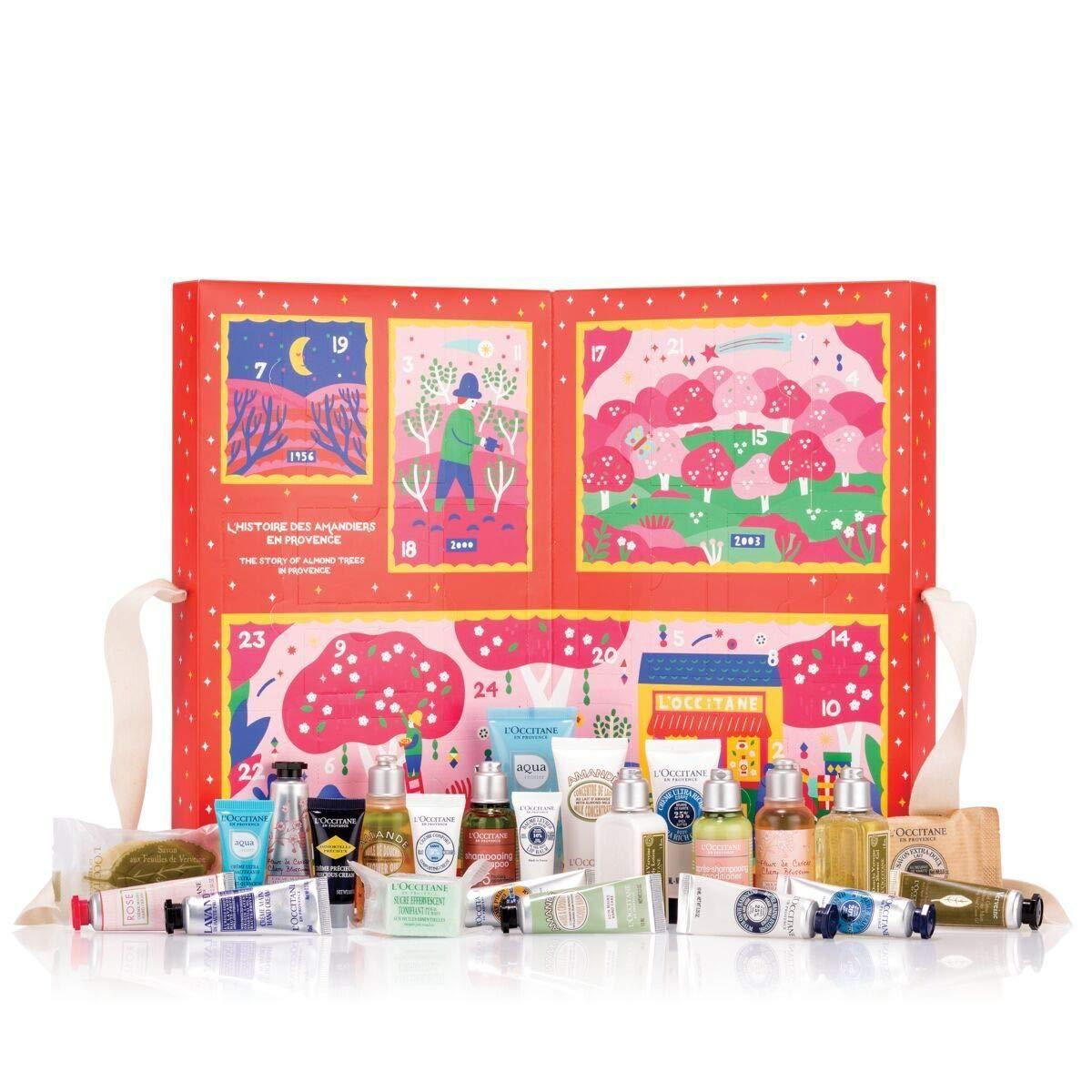 L Occitane Signature Holiday Advent Calendar Beauty Advent