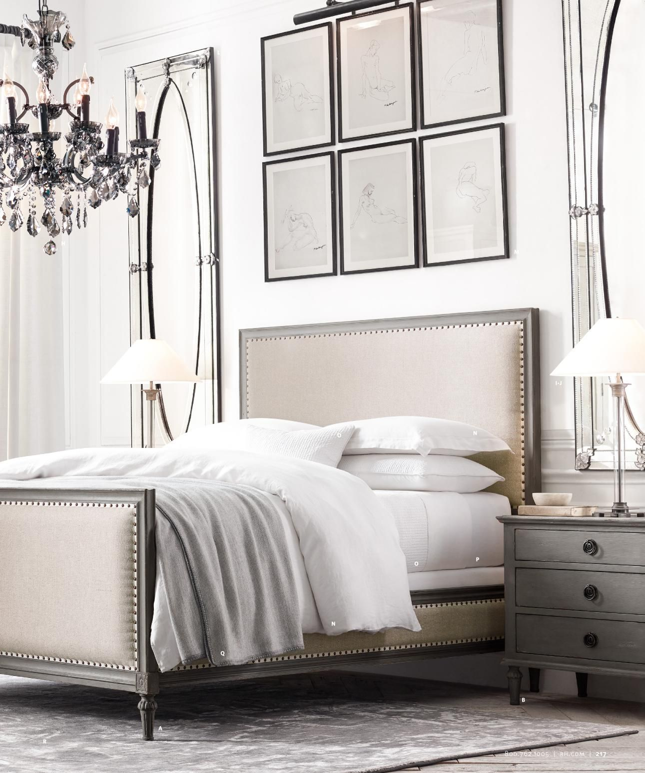 Bedroom Design Gallery For Inspiration: RH Bedroom Ideas And Inspiration #bedroom #bedroomdecor