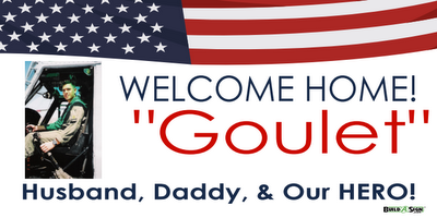 welcome home. husband, daddy and our hero! HOMECOMING SIGN