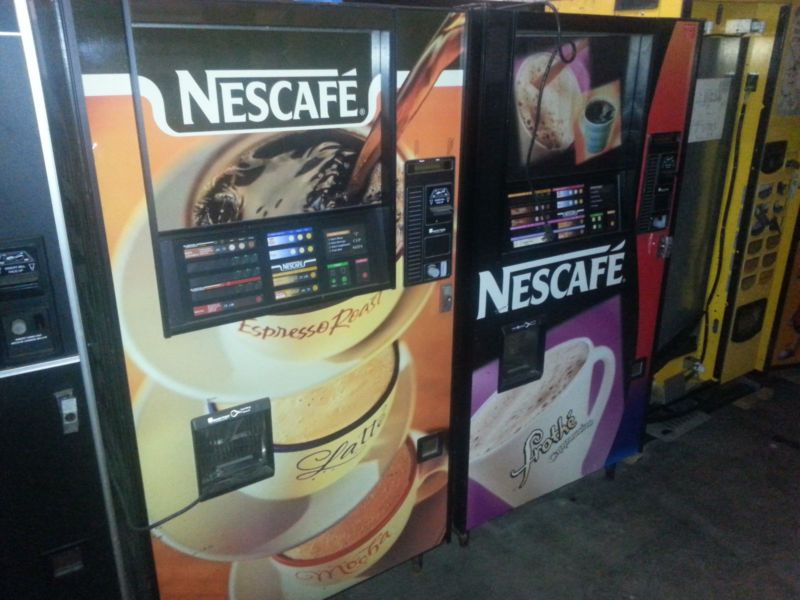 SAVE $$$ - NesCafe AP 213 COFFEE MACHINE - REMOVED FROM LOCATION, WHOLESALE DEAL #ad