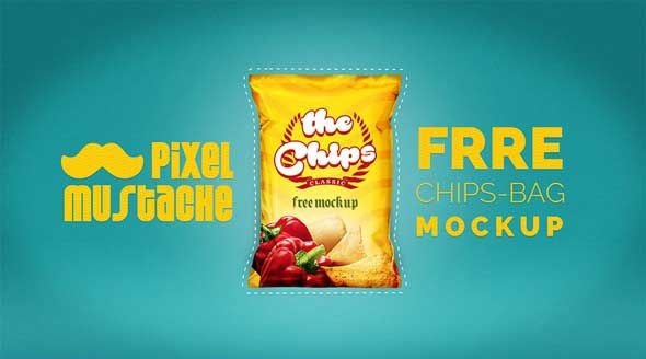 Download Snacks Bag Mockup Psd Free Download