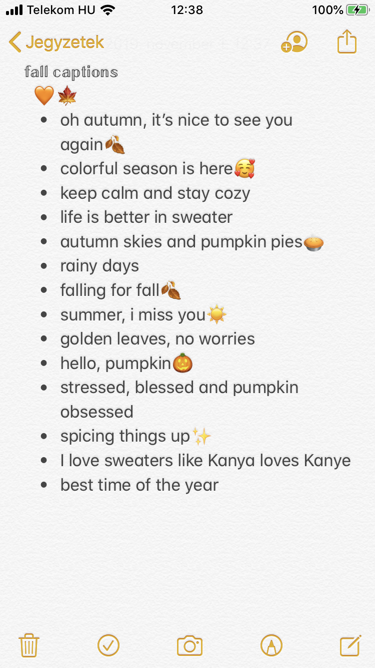 Fall Captions Instagram Quotes Captions Instagram Quotes Instagram Bio Quotes