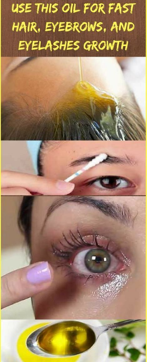 Use This Oil For Fast Hair Eyebrows And Eyelashes Growth
