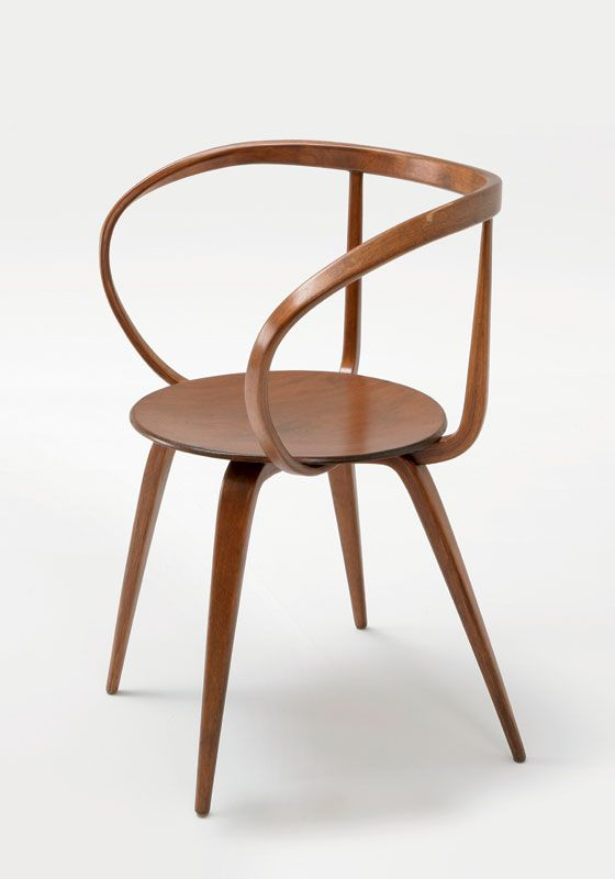 George Nelson Pretzel Armchair 1957 Collection Vitra Design