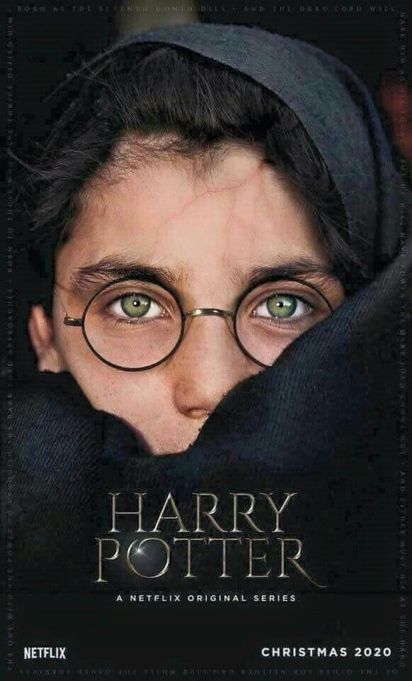 Netflix Needs To Hire Jordan Edwards And Make This A Reality Harry Potter Show Harry Potter Netflix Harry Potter Scar