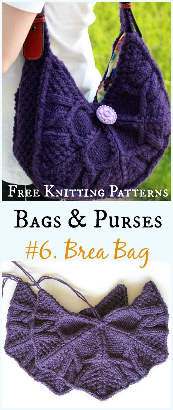 Bags Purses Free Knitting Patterns Crochet And Knitting
