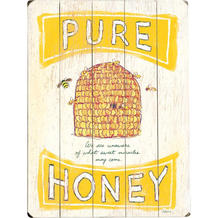 Pure Honey Wall Decor - Wall of Fame on Joss & Main | Bee\'s Knees ...